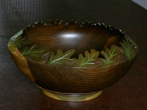 Wood Art Bowl